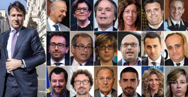 I pupi del nuovo governo italiano provvisorio.png