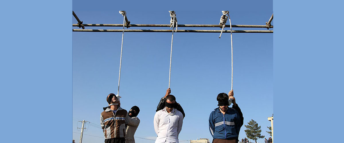 pena di morte in Italia come in Iran
